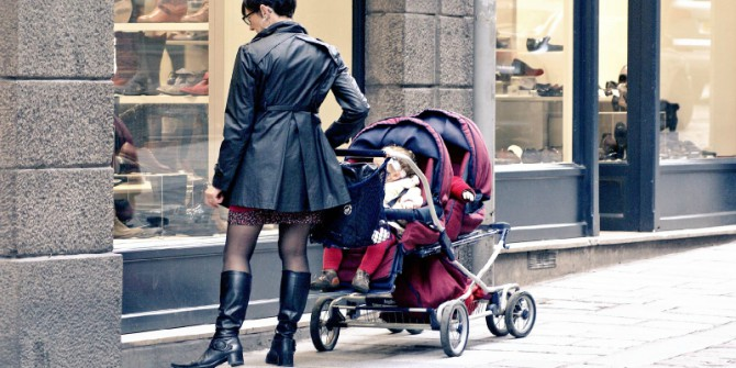 Italian women face dramatic earnings losses after the birth of a child