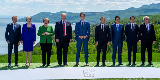 Colliding worlds: Donald Trump and the European Union