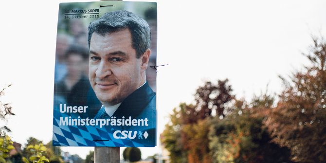 Merkel's grand coalition partners suffer significant losses in the Bavarian election