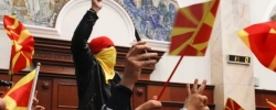 Violence in the Macedonian parliament: What happened and how should the EU respond?
