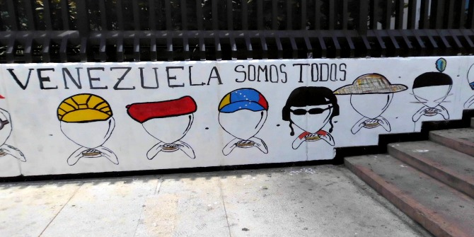 Fragmentation of the social fabric and polarisation in Venezuela