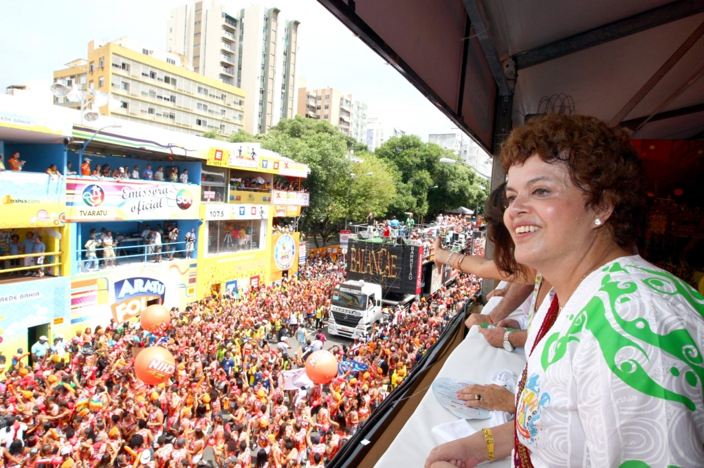 Dilma Rousseff in 2010. Credit: Fotos GOVBA CC BY 2.0
