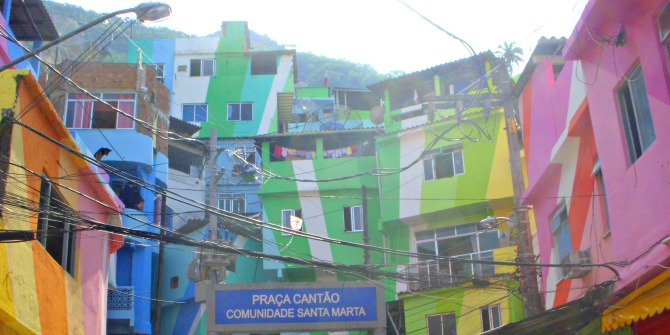 Favela Painting: Building community, social change and emancipation through an OrgansparkZ/Art installation