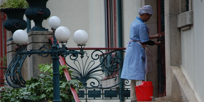 Who is worth being called a 'worker'? Domestic workers' struggle for recognition in Brazil