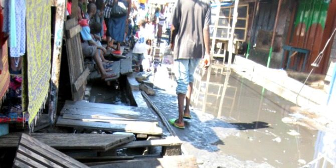 What clean sewers tell us about development in African slums