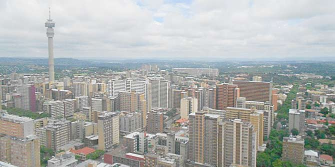 This view over Hillbrow is a compelling one for slum tourists. Photo: Fabian Frenzel