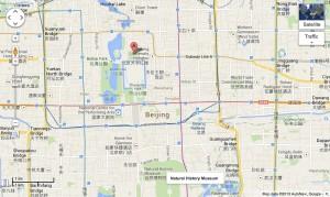 Jingshan-Beijing-China-Map