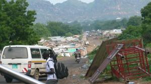 Figure 2: View of Juba, South Sudan (Photographed by Rachel Ayrton, 2013)