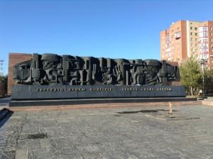 Visiting Karaganda in Kazakhstan (2). Photographed by Aurelie Bröckerhoff