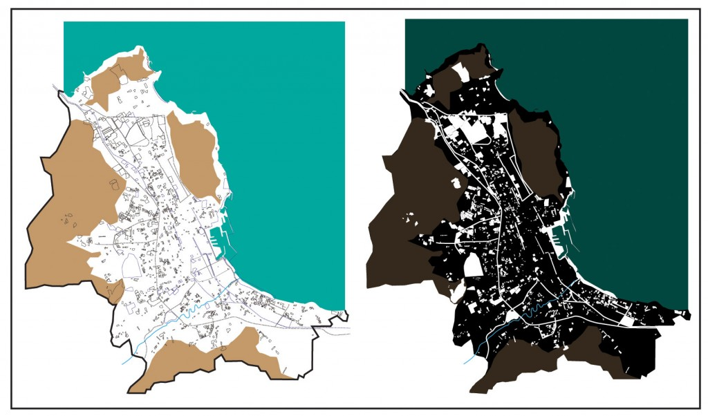 The map of fearscapes (and its inverse) in Palermo. Source: Tulumello, 2015