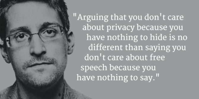 Edward Snowden quote