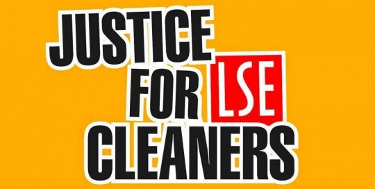 Justice for the LSE Cleaners!
