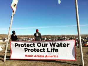 Banner protect our water protect our life