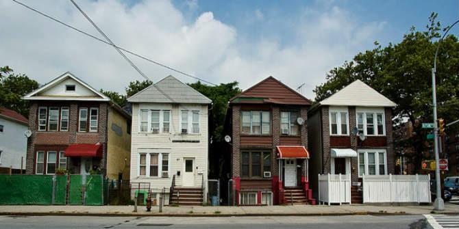 Row of Houses Brighton, Brooklyn