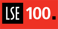 The LSE100 logo
