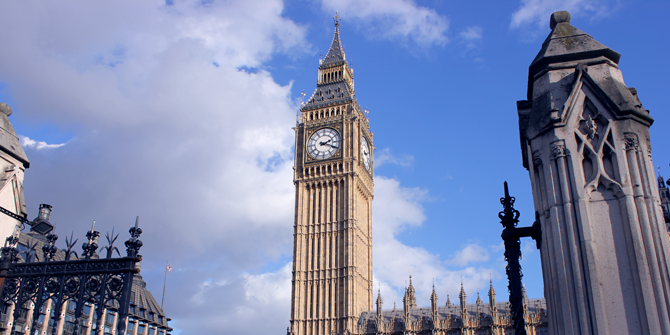 A picture of Big Ben and the Palace of Westminster