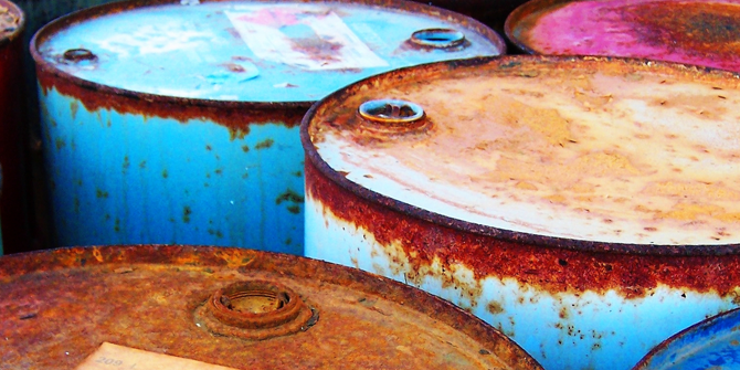 Oil barrels (credit: Chris_J)