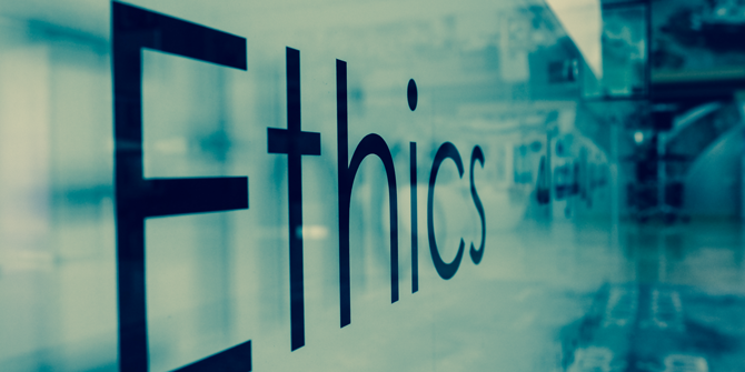 my take on ethics My take: professionalism and ethics in blogging shortly after i started working at houghton mifflin harcourt in january, i found out about plans to organize a book.