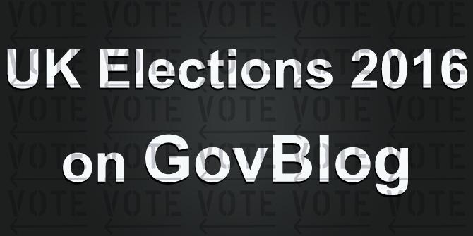 UK Elections 2016 on GovBlog