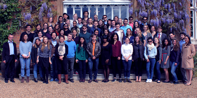 Cumberland Lodge: a weekend of lectures & discussion for students, academics and policy makers