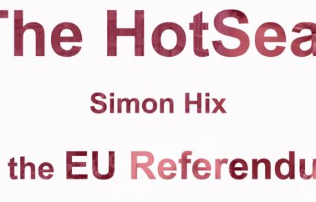 HOTSEAT: Simon Hix on the EU Referendum
