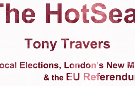 HOTSEAT: Tony Travers on Local Elections, London's New Mayor & the EU Referendum