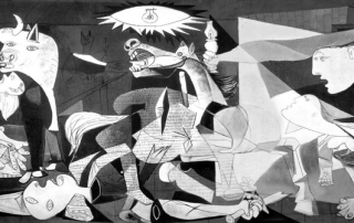 'Guernica' painting by Picasso