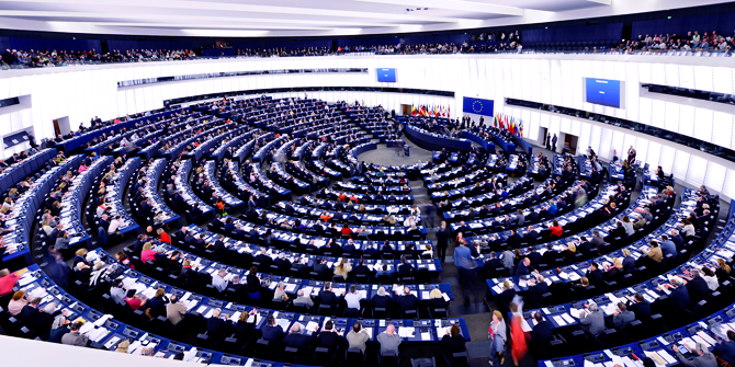 The EU Parliament Chamber (credit: European Parliament)
