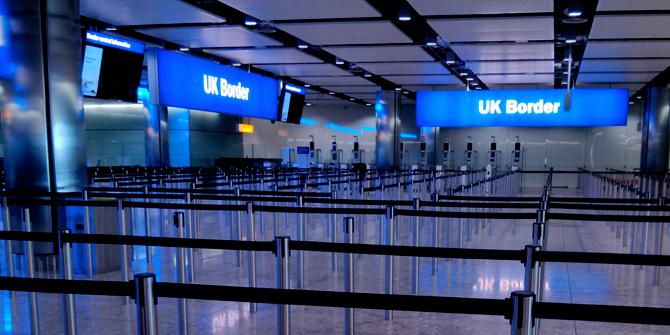 The UK Border (credit: Martin Deutsch)