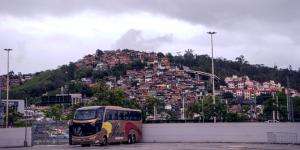 A Favela next to the Estádio Maracanã
