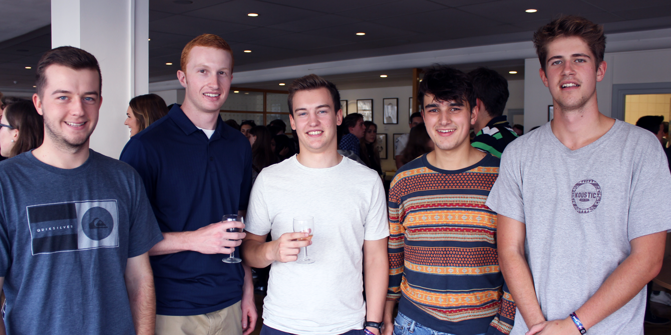 New undergraduate students at our Welcome Week reception