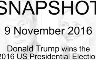 Snaphot - 9 November 2016 - Donald Trump wins US Presidential Election