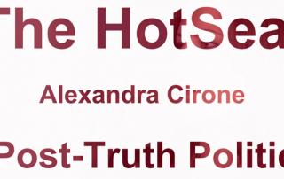 The HotSeat: Alexandra Cirone on Post-Truth Politics
