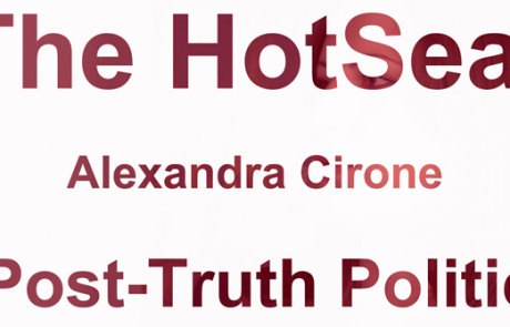 HOTSEAT: Alexandra Cirone on Post-Truth Politics