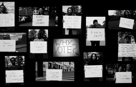 Why vote? Students tell us what they think