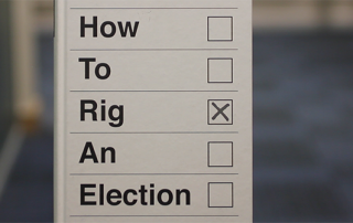Picture of the book 'How to Rig an Election'.