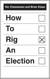 Front cover of the book 'How to Rig an Election'.