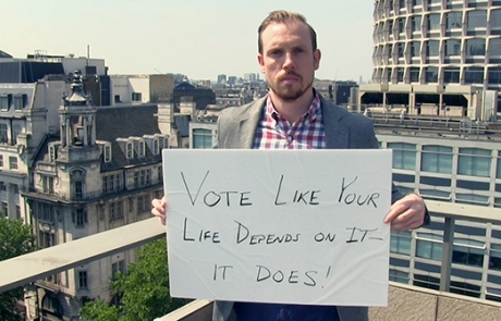 Vote like your life depends on it, because it does!