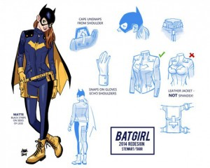 Batgirl Redesign by Cameron Stewart and Babs Tarr. DC Comics