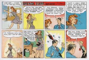 Brenda Starr - Brenda Starr, Reporter by Dale Messick, 1946