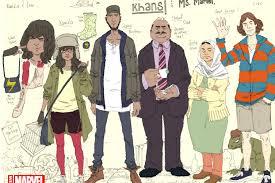 Kamala Khan's Family. Adrian Alphona.