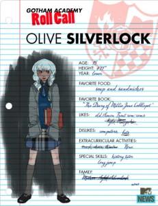 Olive Silverlock