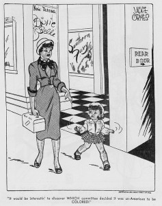 Patty-Jo n Ginger by Jackie Ormes, 1951