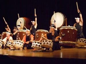 Ikari drumming group (source: taikofestival.org.uk)