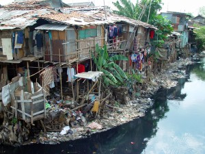 Urban poverty in Jakarta, Indonesia (photograph: J. McIntosh)