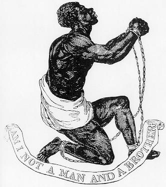 An abolitionist symbol (1787).