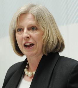 Home Secretary Teresa May