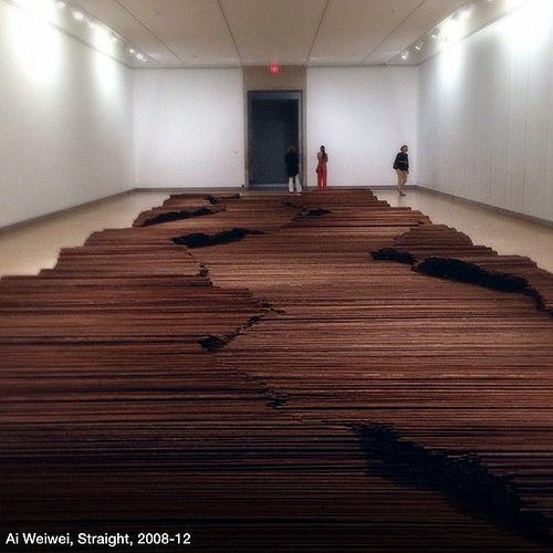 'Straight', by Ai Weiwei.
