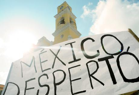"""""""Mexico woke up"""" by Katka Kincelová. Creative Commons. Some rights reserved."""