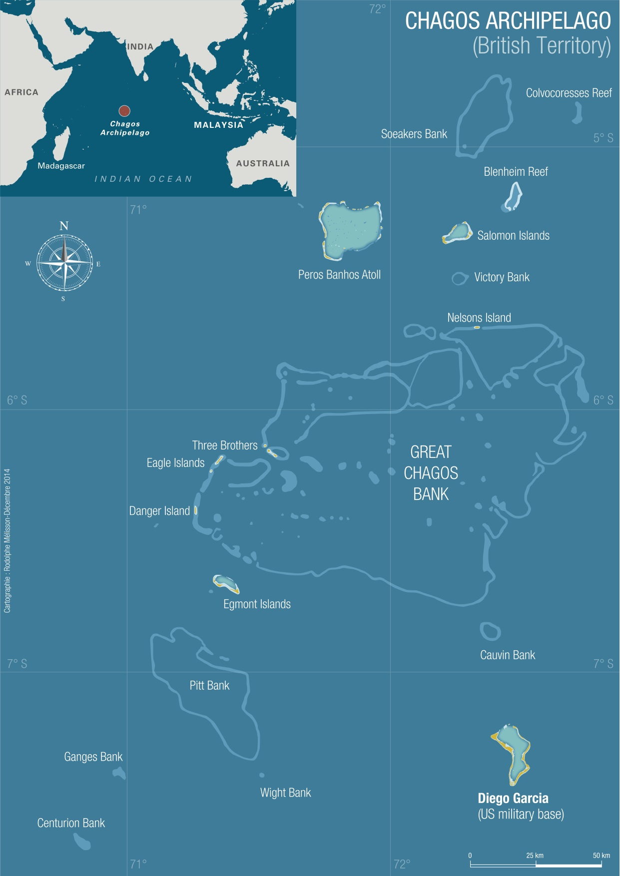 The Chagos Archipelago, British Territory. Licensed under Creative Commons.